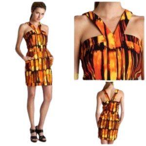 MICHAEL KORS NWT  mini dress deep pockets SZ 4